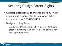 renaissance of u s design patents steven m gruskin sughrue mion