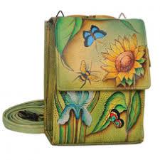 anuschka premium antique anuschka mini sling organizer leather handbags delivery canada