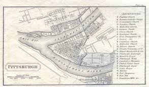 Ohio Canal Map by Pittsburgh 250