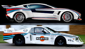 martini rossi racing 2012 giugiaro brivido martini racing honors lancia beta montecarlo
