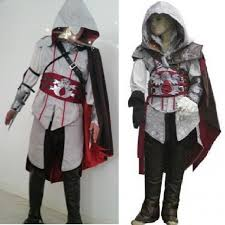 assassins creed costume for kids cosplay ezio connor women altair