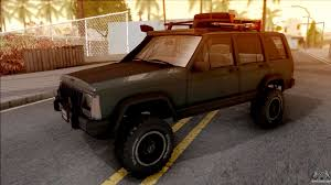 jeep cherokee off road tires jeep cherokee 1984 off road for gta san andreas