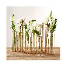 Test Tube Flower Vases Fine China Crystal Accessories Serving Accessories Tozai