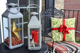 Outdoor Christmas Pillows by Christmas Outdoors Worthing Court