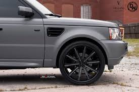 matte range rover range rover sport on vellano vti concave vellano forged wheels blog