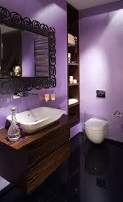 Best 25 Black Bathroom Floor by Best 25 Purple Open Style Bathrooms Ideas On Pinterest Purple