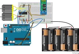 bluetooth based dc motor speed and direction control using arduino