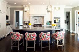 Kitchen Island With Barstools by Kitchen Bar Stool Heights For Easy Comfort While Resting