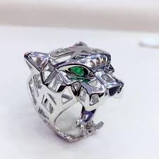 best ring for men top sell cool animal designs panther ring men women leopard rings