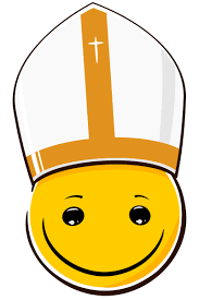 Mondspeer Deviantart - little pope smiley by mondspeer on deviantart