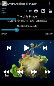 m4b android smart audiobook player android review