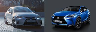 lexus car 2017 2017 lexus is and special edition of lexus nx200t in showrooms