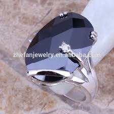 stone rings wholesale images Signet rings wholesale american jewelry black stone ring for male jpg