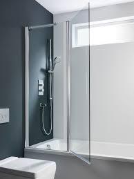 design double bath screen outward opening in design luxury