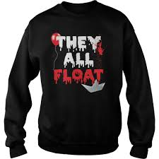 they all float halloween shirt