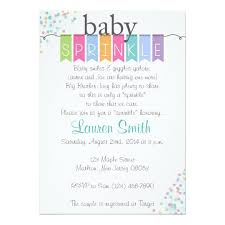 gender neutral baby sprinkle invitations zazzle