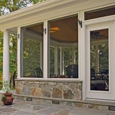 How To Close In A Covered Patio Motorized Retractable Screens For Porches Patios And Lanais