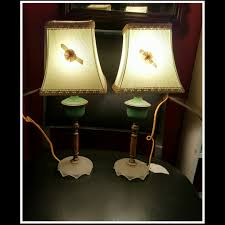 Beautiful Lamps Pair Of Vintage Bakelite Boudoir Lamps Lights