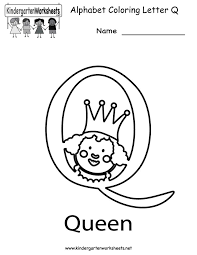 13 best letter q worksheets images on pinterest preschool