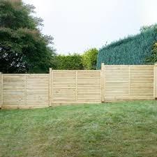 4 Ft Fence Panels With Trellis Grange Contemporary Vogue Wooden Fence Panel 4ft Internet Gardener