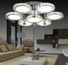 Deckenlampen Wohnzimmer Modern Deckenleuchten Modern Kristall Prunkvolle Deckenleuchte Aus