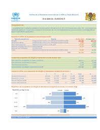 bureau des statistiques document unhcr tchad vue generale des operations statistiques