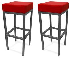 bar stools modern red leather bar stools rectangle cabinet