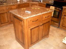 furniture wodoen movable kitchen island with cool storage and