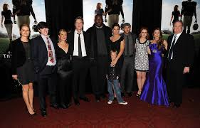 The Blind Side Movie Sandra Bullock And Sean Tuohy Jr Photos Photos Premiere Of