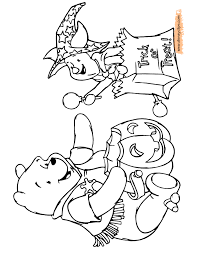 winnie the pooh halloween coloring pages winnie the pooh coloring