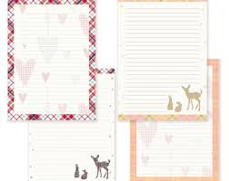 tribal printable writing paper stationary paper letter