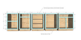 how to build kitchen cabinets free plans kitchen cabinet plans a real help in building kitchen