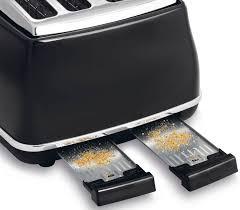 Delonghi Four Slice Toaster New Delonghi Cto4003bk Icona 4 Slice Toaster Ebay