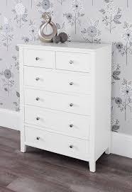 Brooklyn White Furniture Bedroom Furniture Direct - Ready assembled white bedroom furniture