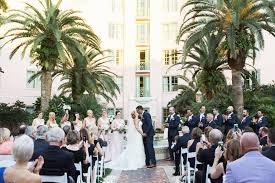 elegant blush u0026 navy downtown st pete wedding vinoy renaissance