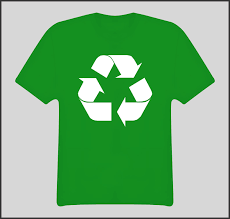 recycle logo green earth t shirt clip art library