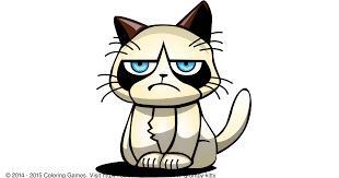 grumpy coloring page image photo album grumpy cat coloring pages