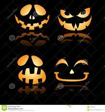 halloween jack o lantern smiles and grin royalty free stock photos