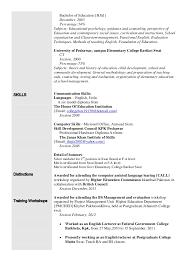 Higher Education Resume Samples by Sample Resume Child Psychologist Resume Exles Caroline F Basic