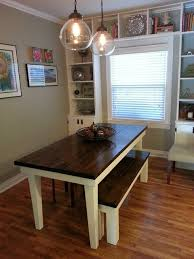 james and james tables james james 6 farmhouse table in dark walnut with ivory tapered