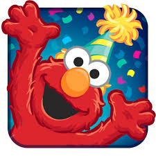 elmo birthday elmo birthday bash app icon mobile ui elmo