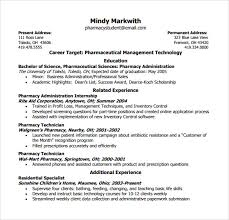 pharmacy technician resume sle pharmacy technician resume 8 free documents in pdf word