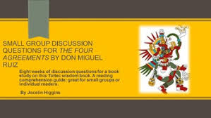 the four questions book the four agreements by don miquel ruiz discussion questions tpt