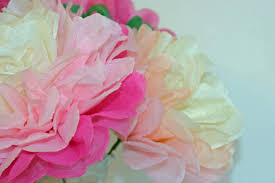 Make Your Own Paper Flowers - make your own tissue paper flowers with our tissue paper peonies
