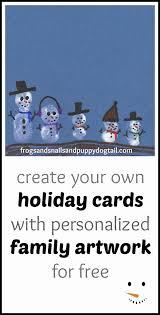snowman family christmas cards fspdt