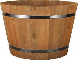 barrel planter pennington garden décor