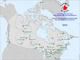 Eastern Canada Map by Environment And Climate Change Canada Air The Canadian Air And