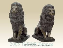 barye lion sculpture seated lion bronze sculpture by antoine barye