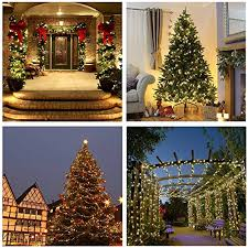 200 warm white christmas tree lights luckled 66ft 200 led christmas starry string lights dimmable with