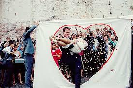 drapã e mariage 6 idées pour ta sortie de cérémonie drap coeur et sortie